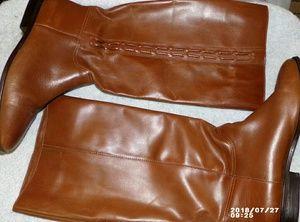 Nicole leather boots sz 8 m